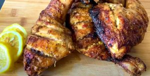 Chilaquiles-Style Roasted Chicken Legs Recipe