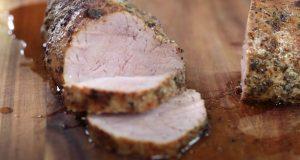 Roast Pork Tenderloin with Acorn Squash Recipe