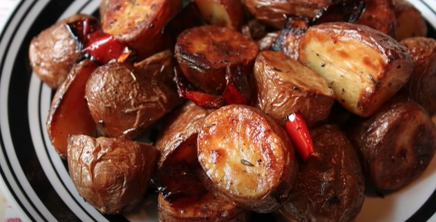 Roasted Red Potatoes, Onions, and Peppers Recipe