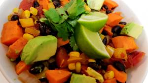 Roasted Sweet Potato and Black Bean Chili Recipe