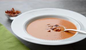 Roasted Tomato Bacon Soup Recipe