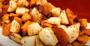 Simple Roasted Potato Trio Recipe