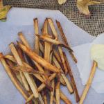 skinny baked seasoned fries with garlic aioli recipe