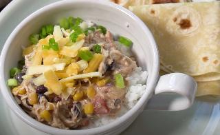Slow Cooker Creamy Fiesta Chicken Recipe