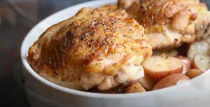 Slow Cooker Parmesan Garlic Herb Chicken Recipe