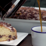 sour cream chocolate chip coffee cake recipe