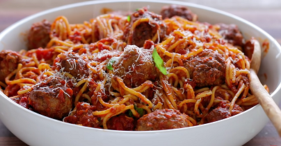 spaghetti and meatballs paleo style recipe