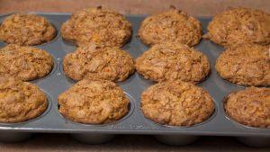 Spiced Carrot Muffins Recipe