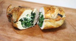 Spinach and Feta Stuffed Chicken Breasts Recipe