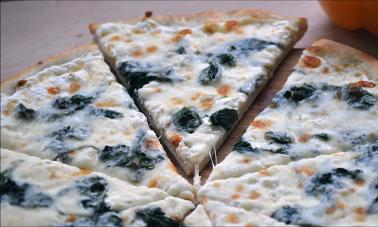 spinach feta pine nut pizza recipe