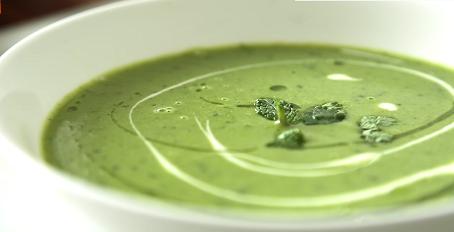spring pea basil soup recipe