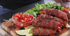 Steak Fajitas with Roquefort Recipe