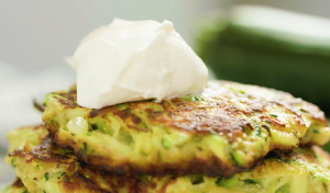 Summer Squash and Chive Pancakes Recipe