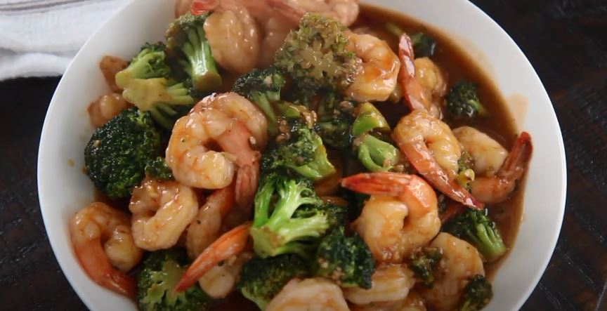 sweet and sour shrimp with broccoli recipe