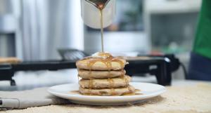 Sweet Mashed Potato Pancakes Recipe
