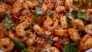 Thai-Style Ginger and Sweet Red Chili Shrimp Recipe