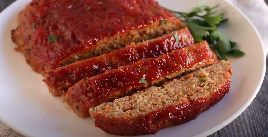 turkey meatloaf with bbq glaze recipe