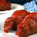 twist on italian braciole in marinara sauce recipe