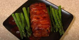 Veal-and-Mushroom Meatloaf with Bacon Recipe
