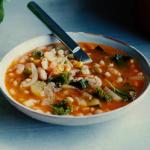 vegan chickpea minestrone recipe