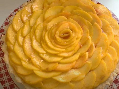White Peach Tart Recipe