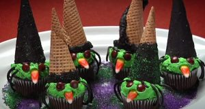 Wicked Witch Cupcakes Recipe