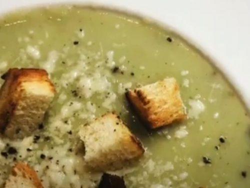 Zucchini-and-Fennel Soup Recipe