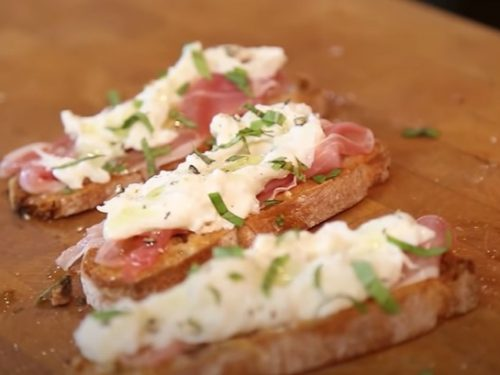 white-bean and prosciutto bruschetta recipe
