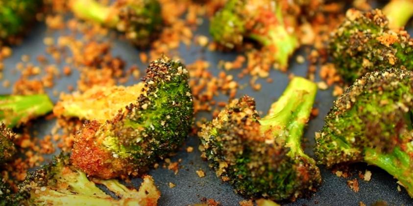 roasted broccoli with smashed garlic recipe