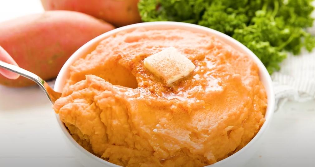 molasses whipped sweet potatoes recipe