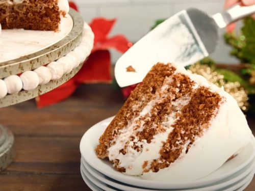 triple ginger gingerbread cake recipe