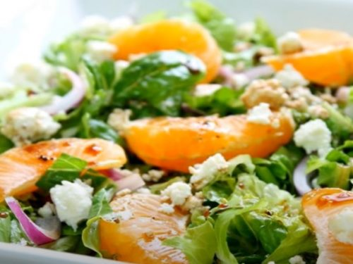 spinach and orange salad with pecans recipe