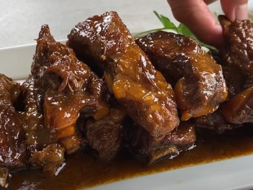 rib with bbq sauce recipe