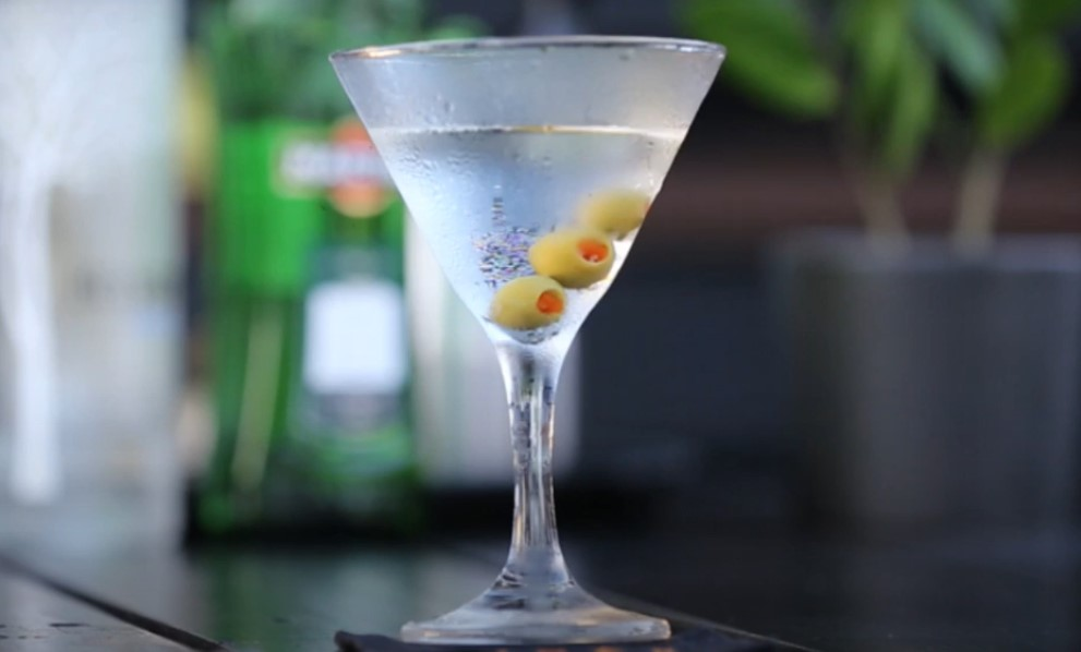 classic vodka martini recipe