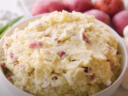 garlic red mashed potatoes recipe
