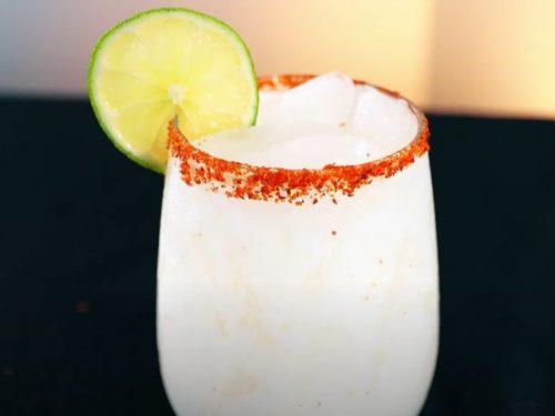 sweetened coconut margarita recipe