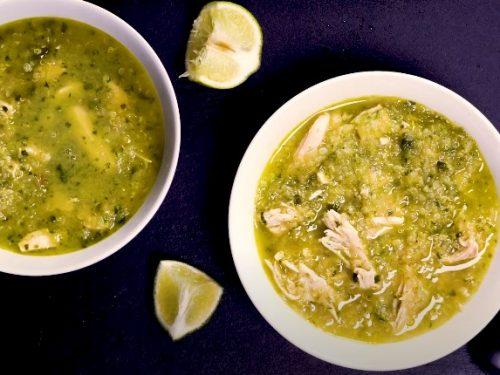 curry chicken and quinoa soup recipe