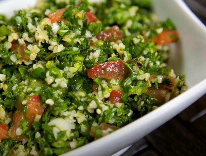 tabbouleh with tuna recipe