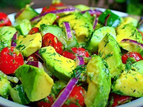 tomato and avocado salad recipe