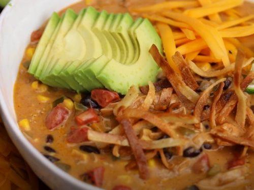 grilled chicken tortilla soup recipe