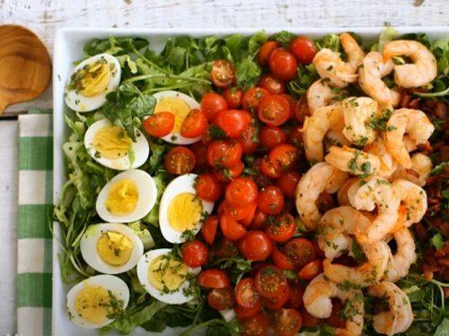 mexican shrimp cobb salad recipe