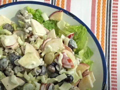 cranberry waldorf salad recipe