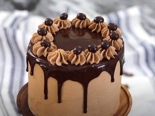 low sugar mocha nut cake recipe