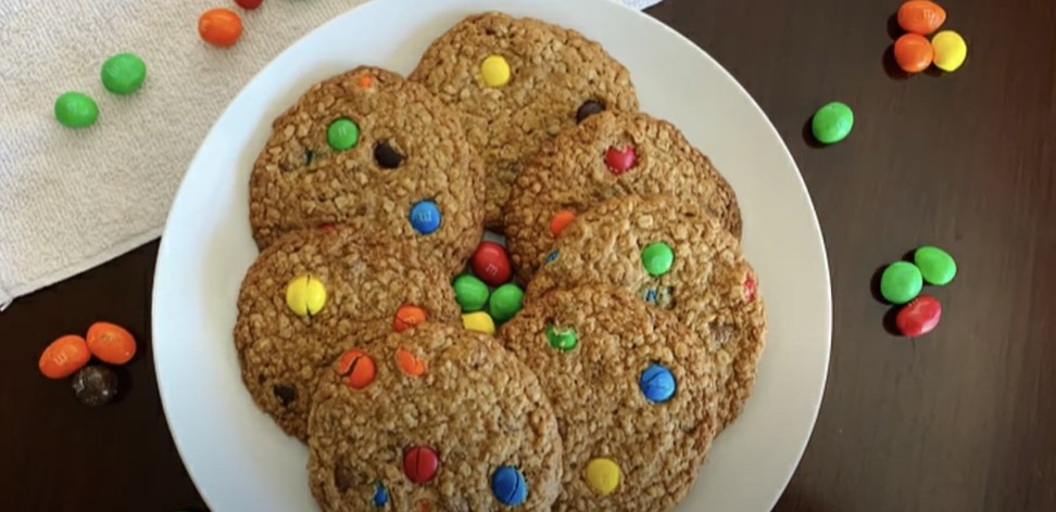 chewy oatmeal m&m cookies recipe
