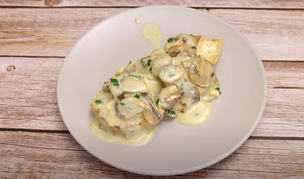 one pot creamy chicken mushroom florentine recipe