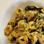tortellini with pesto and roasted veggies recipe