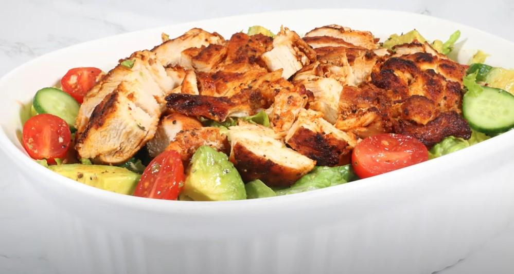 chicken and avocado salad recipe