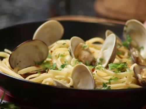 linguine pasta with clams recipe