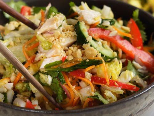 vietnamese cabbage-and-chicken salad recipe