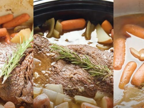 easy slow-cooked pot roast recipe
